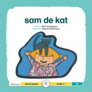 cover leesboek Sam de kat