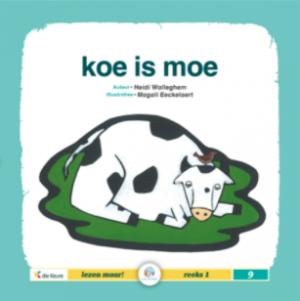 cover leesboek Koe is moe