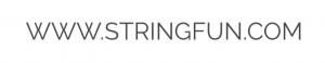 Logo van Stringfun (webadres)
