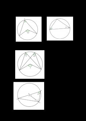 Voorbeeld uit: Taak omtrekshoeken en middelpuntshoeken.docx