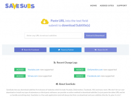 Logo website Savesubs