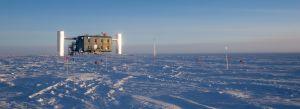 IceCube experiment zuidpool