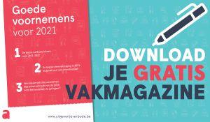 Voorblad met tekst download je gratis vakmagazine