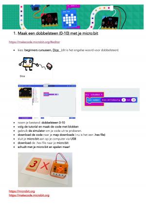 Voorbeeld uit: oppervlakte spel met micro-bit.pdf