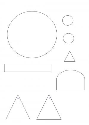 Voorbeeld uit: begrijpend lezen knutselen van een gezicht.pdf