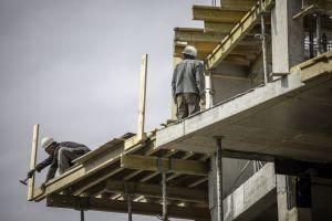 arbeiders op een bouwwerf