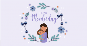 illustratie moeder met kind