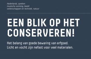 Voorbeeld uit: fiche erfgoed_Een blik op conserveren.pdf