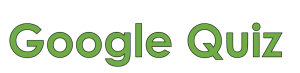 Voorbeeld uit: googlequiz.docx