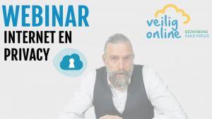 Webinar Veilig Online: Internet en privacy