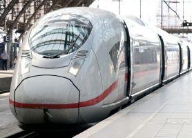 Foto van een trein