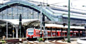 Foto van een treinstation