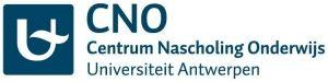 Logo Centrum Nascholing Onderwijs (CNO UAntwerpen)