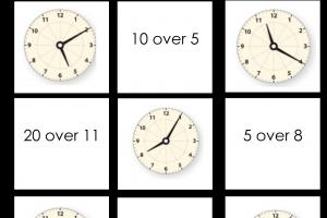 Voorbeeld uit: Memory kloklezen.docx