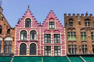 gevels van oude huizen