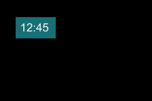 Voorbeeld uit: hulpfiche digitale klok.docx