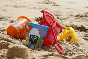 emmertjes op het strand