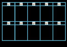 Voorbeeld uit: + en - tot 6 regenwormenspel