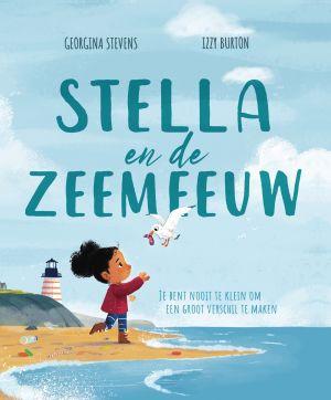 Cover van het boek Stella en de zeemeeuw