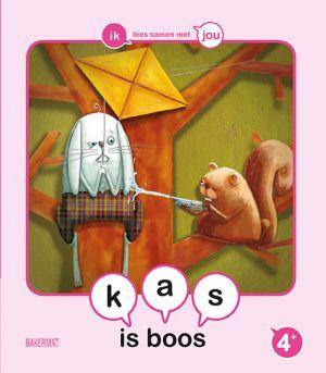 Cover boek Kas is boos