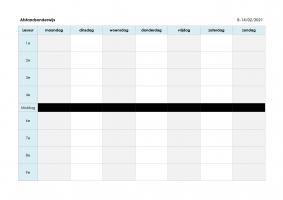 Voorbeeld uit: Planning afstandsonderwijs.pdf