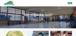 Startpagina van de slimerfgoed-site