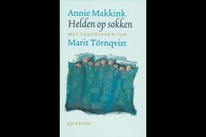 cover van het boek 'Helden op sokken'