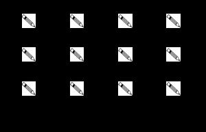 Voorbeeld uit: schrijfkaartjes kern 1 - KC.docx