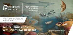 Digitaal onderwijs met cultureel erfgoed MOOC-banner
