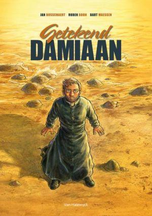 Cover Damiaanstrip Getekend Damiaan