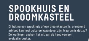 Voorbeeld uit: fiche erfgoed_Spookhuis en droomkasteel.pdf