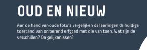 Voorbeeld uit: fiche erfgoed_Oud en nieuw.pdf