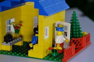 huisje uit LEGO