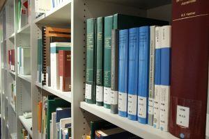 boeken in een kast