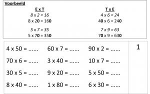 Voorbeeld uit: Bundel vermenigvuldigen tot 1 000.pdf