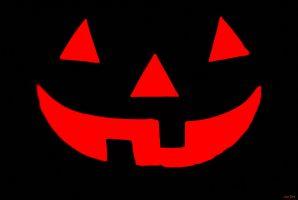Gezicht van Halloweenpompoen