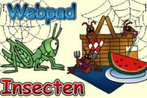 clipart van een sprinkhaan en mieren die een watermeloen eten