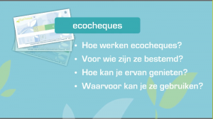still uit het filmpje over ecocheques