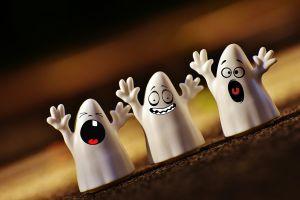 Drie spookjes