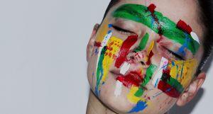 geschilderd gezicht
