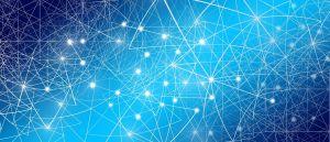 netwerk van lijntjes