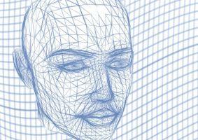 3D beeld van een gezicht