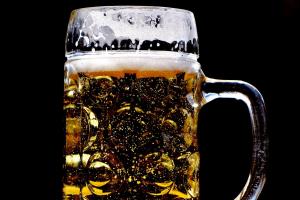 een pint bier