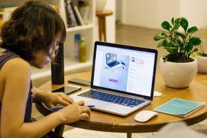 leerling aan het studeren