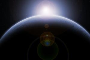 planeet en ster
