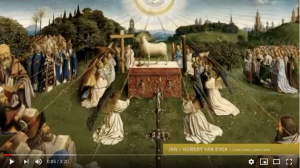 screenshot overzicht Vlaamse kunst