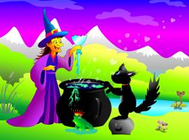 heks met toverdrank