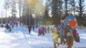 Kinderen in sneeuw