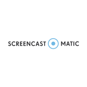Het logo van Screencast-O-Matic.