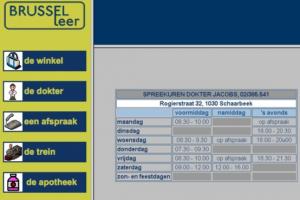 screenshot van website Brusselleer